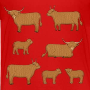 Highland Cattle Kids' Shirts - Kids' Premium T-Shirt