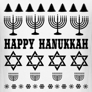 HAPPY HANUKKAH 1.png T-Shirts - Men's T-Shirt