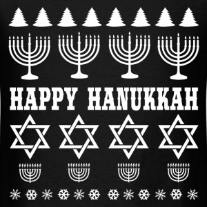 HAPPY HANUKKAH 2.png T-Shirts - Men's T-Shirt