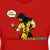 Scorpion BF Comic Female - Women's T-Shirt
