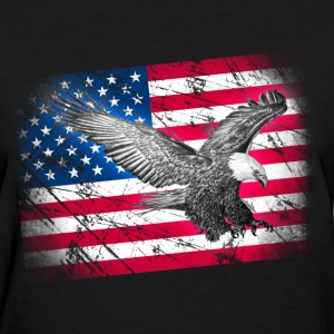 eagle with banner - Women's T-Shirt