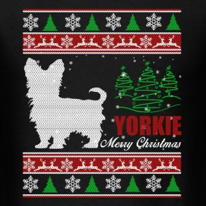 Yorkie Shirt - Yorkie Christmas Shirt - Men's T-Shirt