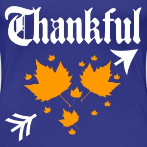 thankful 2.png T-Shirts - Women's Premium T-Shirt