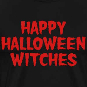 Happy Halloween Witches T-Shirts - Men's Premium T-Shirt