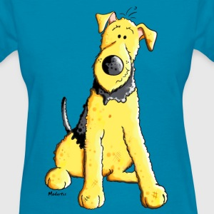 Funny Airedale Terrier T-Shirts - Women's T-Shirt
