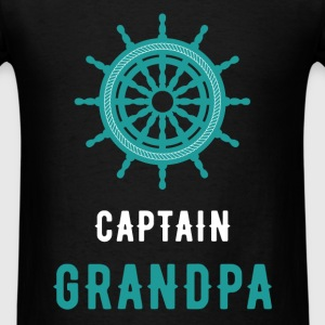 Captain grandpa - Men's T-Shirt
