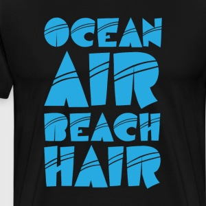 Ocean Air Beach Air Beach Vacation T-shirt T-Shirts - Men's Premium T-Shirt