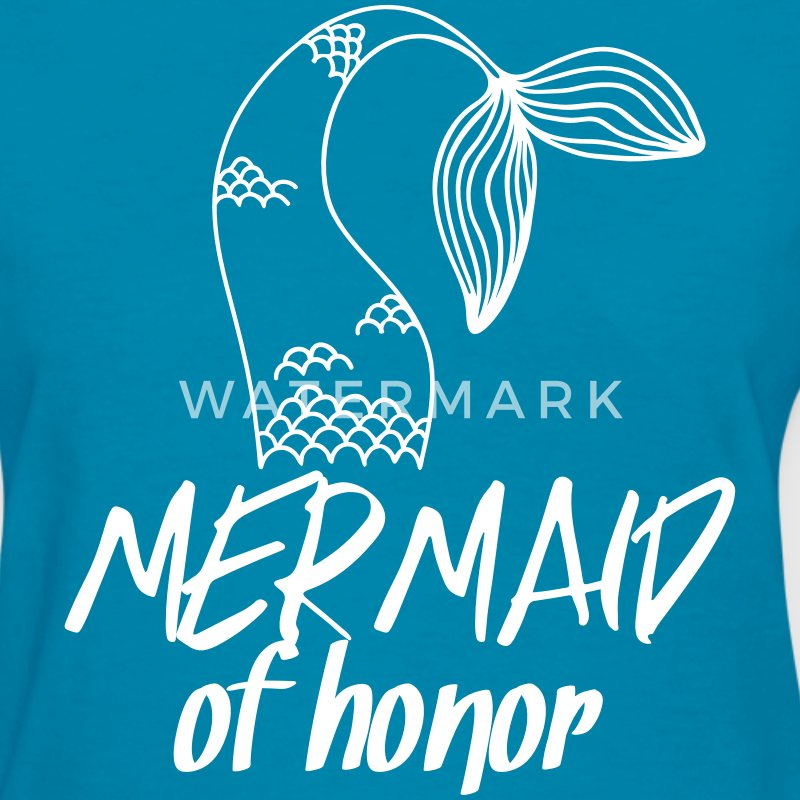 Mermaid of honor T-Shirts - Women's T-Shirt