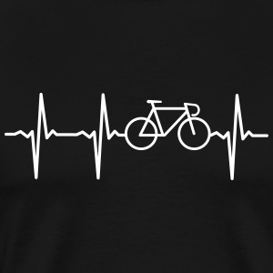 Heartbeat Bike T-Shirts - Men's Premium T-Shirt