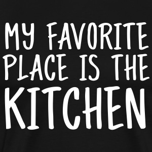 My Favorite Place Is The Kitchen T-Shirts - Men's Premium T-Shirt