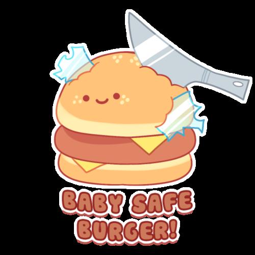 Baby-safe Burger