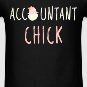 Accountant chick - Men's T-Shirt