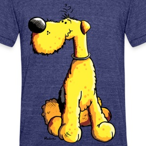 Airedale Terrier T-Shirts - Unisex Tri-Blend T-Shirt by American Apparel