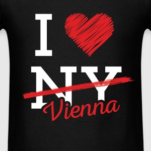 I love NY Vienna - Men's T-Shirt
