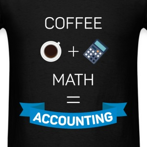 coffee+math=accounting - Men's T-Shirt