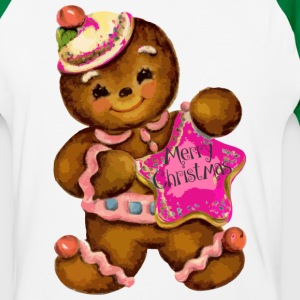 Gingerbread Girl - Baseball T-Shirt
