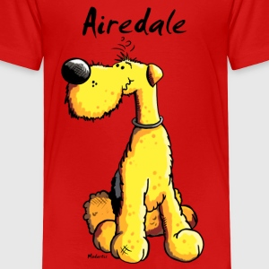 Cute Airedale Terrier Cartoon Baby & Toddler Shirts - Toddler Premium T-Shirt