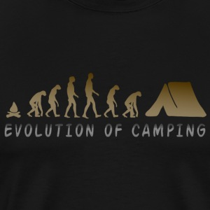 Camping Evolution - Men's Premium T-Shirt