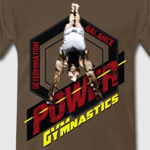 Gymnastics Triple Threat T-Shirts - Men's Premium T-Shirt