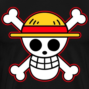 straw hat pirates flag - Men's Premium T-Shirt