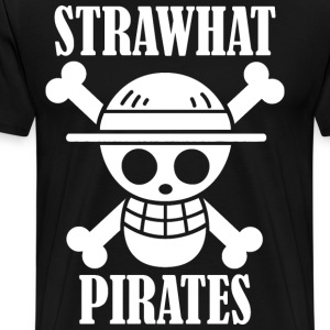straw hat pirates crew - Men's Premium T-Shirt