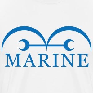 marine one piece - Men's Premium T-Shirt