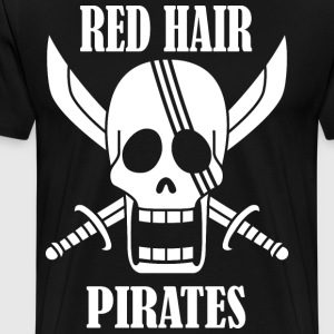red hair pirates - Men's Premium T-Shirt