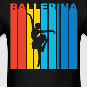 Ballerina Silhouette Dancer T-Shirt - Men's T-Shirt