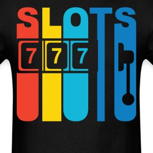Slot Machine Slots Gambling T-Shirt - Men's T-Shirt