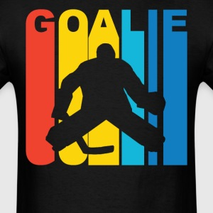 Hockey Goalie Silhouette Sports T-Shirt - Men's T-Shirt