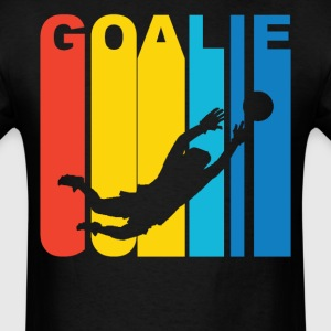 Soccer Goalie Silhouette Sports T-Shirt - Men's T-Shirt