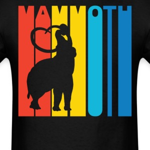 Woolly Mammoth Silhouette Mammoth T-Shirt - Men's T-Shirt