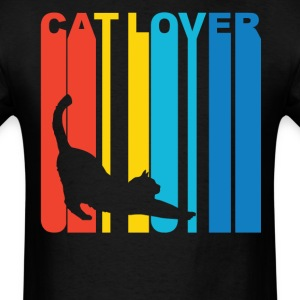 Cat Silhouette Cat Lover T-Shirt - Men's T-Shirt