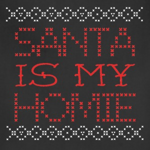 Santa Is My Homie Christmas Design Sweater Inspire Aprons - Adjustable Apron