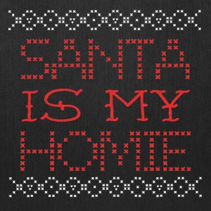 Santa Is My Homie Christmas Design Sweater Inspire Bags & backpacks - Tote Bag