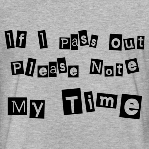 NOTE MY TIME T-Shirts - Fitted Cotton/Poly T-Shirt by Next Level