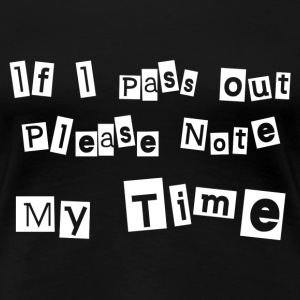 NOTE MY TIME T-Shirts - Women's Premium T-Shirt