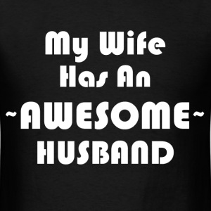 AWESOME HUSBAND T-Shirts - Men's T-Shirt