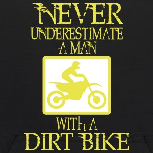 NEVER UNDERESTIMATE A MAN WITH A DIRT BIKE! Sweatshirts - Kids' Hoodie