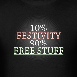 "The ""True"" Meaning of Christmas - Men's T-Shirt"