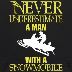 NEVER UNDERESTIMATE A MAN WITH A SNOWMOBILE! Sweatshirts - Kids' Hoodie