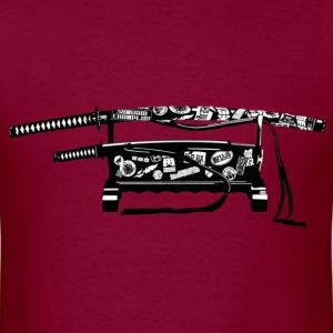 Samurai Champloo Sword  - Men's T-Shirt