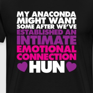 My Anaconda Might Want Some After T-Shirt T-Shirts - Men's Premium T-Shirt