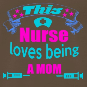 this nurse loves being a mom - Men's Premium T-Shirt