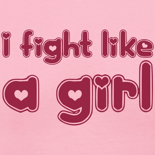 Famous Quotes T Shirts Womens I Fight Like A Girl Pink T Shirt