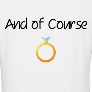 DIAMOND RING T-Shirts - Women's V-Neck T-Shirt