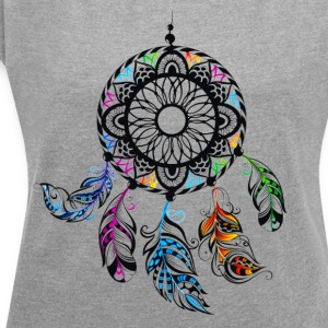 dream catcher - Women´s Rolled Sleeve Boxy T-Shirt