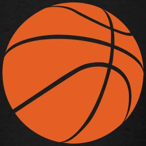 Basketball Ball - Men's T-Shirt