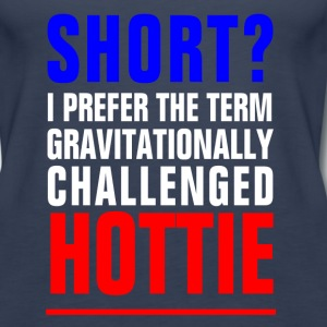 GRAVITATIONALLY CHALLENGE Tanks - Women's Premium Tank Top