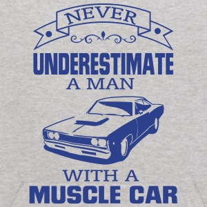 NEVER UNDERESTIMATE A MAN WITH A MUSCLE CAR! Sweatshirts - Kids' Hoodie
